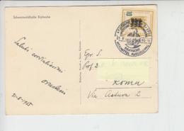 GERMANIA  1955 - Medicina -annullo Speciale Illustrato - Malattie