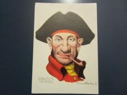 Carte Postale Les Corsaires Etienne Blandin Jacques Robidel Dit Croche Au Cul - Andere Zeichner