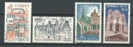FRANCE: Obl., N° YT 2081 à 2084, Série, TB - Frankreich