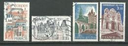 FRANCE: Obl., N° YT 2081 à 2084, Série, TB - France