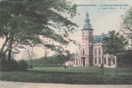 Marchienne-au-Pont.  Le Parc Et L'Hôtel De Ville.  Scan - Belgium