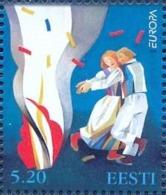 EE 1998-325 EUROPA CEPT, ESTONIA, 1 X 1v, MNH - Europa-CEPT