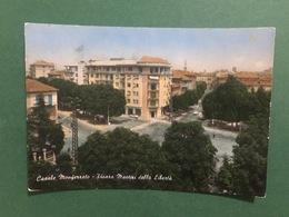 Cartolina Casale Monferrato - Piazza Martiri Della Libertà - 1960 - Alessandria