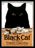 PUBLICITE - ILLUSTRATEURS - CIGARETTES BLACK CAT - EDITIONS F. NUGERON N° J85 - Publicité