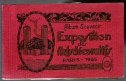 75 PARIS Carnet Album De 20 Cartes Postales Anciennes De L'Exposition Des Arts Décoratifs De Paris 1925 - Ausstellungen