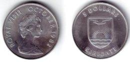 KIRIBATI - 5 Dollars 1982   ROYAL VISIT - KM#12 BU - Kiribati