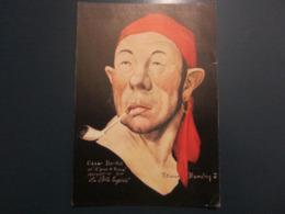 Carte Postale Les Corsaires Etienne Blandin César Barillet Dit Z'yeux D'Prince - Andere Zeichner