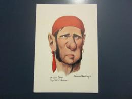 Carte Postale Les Corsaires Etienne Blandin Jean-Louis Faucon Dit Calomnié - Andere Zeichner