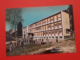 Cartolina Varallo - Palazzo Scuole Medie Liceo - Istituto Tecnico - 1960 - Vercelli