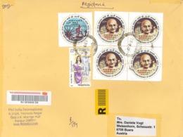 [A4] R-Brief Gandhi - Mahatma - Indische Mode - Indien