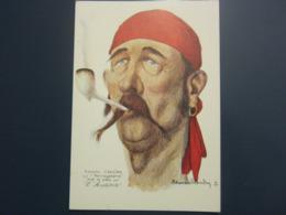 Carte Postale Les Corsaires Etienne Blandin Adolphe Lancien Dit Vercingétorix - Andere Zeichner