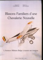 Aéronautique Militaire Et Force Aérienne Belges. Insignes D'unités - Aviation