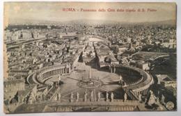 V 10755 Roma - Panorama Della Città Dalla Cupola Di S. Pietro - San Pietro
