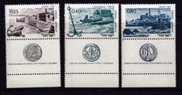 ISRAEL, 1967, Unused Stamp(s), With Tab, Ancient Ports, SG353-355, Scannr. 17600 - Israël