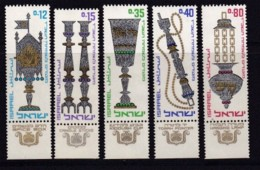 ISRAEL, 1966, Unused Stamp(s), With Tab, New Year - Festival, SG337-341, Scannr. 17596 - Israël