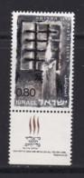 ISRAEL, 1968, Unused Stamp(s), With Tab, Fallen Freedom Fighters, SG394, Scannr. 17619 - Israël