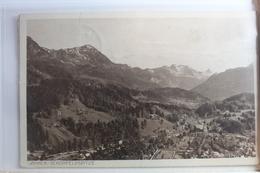 AK Berchtesgaden Mit Jänner Und Schönfeldspitze Gebraucht #PF594 - Deutschland
