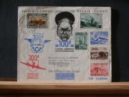 A11/674   LETTRE BELGEPOUR LE CONGO 1938 - Belgique