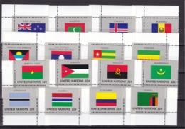 UNO-New York, 1986,  499/14,  MNH **,  Flaggen Der UNO-Mitgliedstaaten (VII). - New-York - Siège De L'ONU