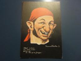 Carte Postale Les Corsaires Etienne Blandin Albert Le Jeune Dit Verte Cuisse - Andere Zeichner