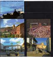 2016 Spain - Charming Villages I Booklet Like Postacrds Set Odd - MNH** MI MH 0-75 - Errori Sui Francobolli