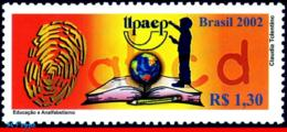 Ref. BR-2862 BRAZIL 2002 EDUCATION, LITERACY, UPAEP,, AMERICA ISSUE, MI# 3280, MNH 1V Sc# 2862 - Brasilien