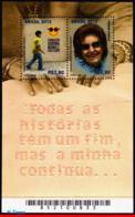 Ref. BR-3214 BRAZIL 2012 HEALTH, FOUND.FOR BLIND, DORINA, NOWILL, DISABLED PERSONS, BRAILLE, MNH 2V Sc# 3214 - Persönlichkeiten