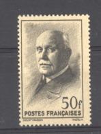 France  :  Yv  525a   **    Papier Jaunâtre - Francia
