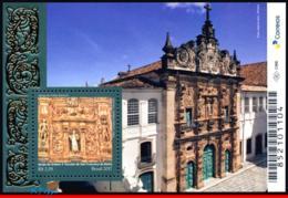 Ref. BR-V2017-23 BRAZIL 2017 CHURCHES, BAROQUE STYLE CHURCH,, RELIGION, ARCHITECTURE, S/S MNH 1V - Brasilien