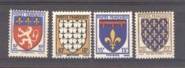France  :  Yv  572-75  ** - Francia