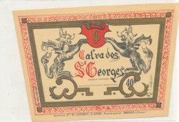 537 / ETIQUETTE -   CALVADOS   ST  GEORGES  G. JOUIN  BRIOUZE   (ORNE) - Labels