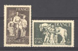 France  :  Yv  585-86  * - Frankreich