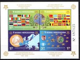 BOSNIA ERZEGOVINA - 2006 - Europa Stamps 50th Anniv. - Souvenir Sheet - MNH - Bosnie-Herzegovine