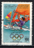 LIBIA - 1984 - OLIMPIADI DI LOS ANGELES - USATO - Libia