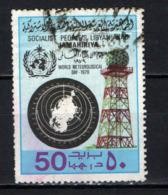 LIBIA - 1979 - World Meteorological Day - USATO - Libia
