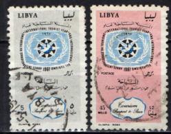 LIBIA - 1967 - ANNO INTERNAZIONALE DEL TURISMO - USATI - Libia