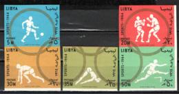 LIBIA - 1964 - OLIMPIADI DI TOKIO - USATI - Libia