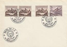 Blanko Sonderstempelbeleg 1940: Berlin: 40. Philatelistentag 103, Winterhilfsw. - Deutschland
