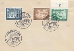 Blanko Sonderstempelbeleg 1940: München: Tag D. Internationalen Hindernissportes - Alemania
