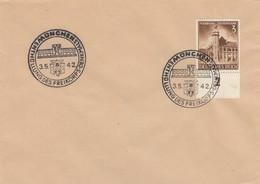Blanko Sonderstempelbeleg 1942: München: Enthüllung Des Freikorps-Denkmals - Alemania