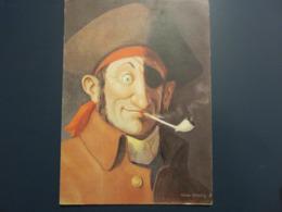 Carte Postale Les Corsaires Etienne Blandin Nicolas Poitevin Dit Coup D'oeil - Andere Zeichner