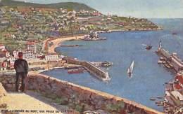 ** Lot De 2 Cartes ( Illustrations ) ** 06 - NICE : Entrée Du Port Et Promenade Du Midi - Jolies CPA - Alpes Maritimes - Sin Clasificación