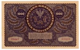 POLOGNE // 1919 // 1 000 Marek // XF/SUP - Pologne