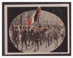 "DT- Reich (004310) Propaganda Sammelbild ""Kampf Ums Dritte Reich"" Bild 8, Oberlandler SA - Allemagne"