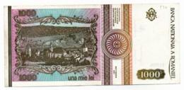 ROUMANIE // 1991 // 1 000 LEI // SUP/XF - Rumania