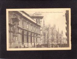 89170     Italia,   Milano,  Duomo E  Palazzo Della Camera Di Commercio,  NV - Milano (Milan)
