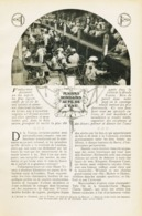 Plaisir Mondaine Au Fil De L`eau /  Article,  Pris D`un Magazine / 1910/1911 - Ohne Zuordnung