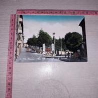 C-78442 SAN VITO ROMANO VIA VITTORIO EMANUELE E G. BACCELLI PANORAMA AUTO D'EPOCA - Italy