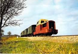 ** Lot De/of 5 Cartes/postcards ** TRAINS  Train - LOCOTRACTEUR - Zug Trenes Bahn Trein Treni Trenes Os Comboios - Treni