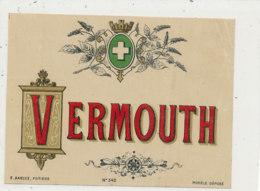 AN 668 / ETIQUETTE     VERMOUTH  N° 340 - Labels